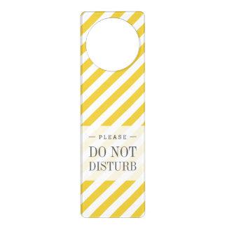 Teste padrão diagonal amarelo e branco das listras sinais de porta