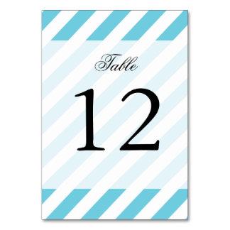 Teste padrão diagonal azul e branco das listras cartão