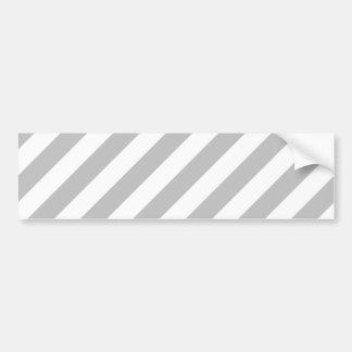 Teste padrão diagonal do cinza e o branco das adesivo de para-choque