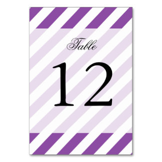 Teste padrão diagonal roxo e branco das listras cartão