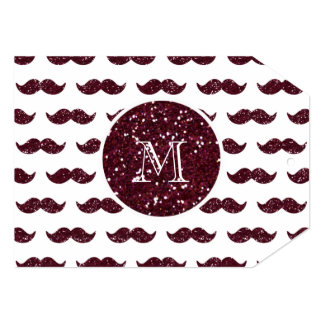 Teste padrão do bigode do brilho do vinho seu convite personalizados