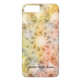 Teste padrão do caleidoscópio da estrela/flor capa iPhone 7 plus