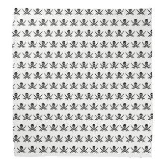 Teste padrão do crânio do pirata lenço