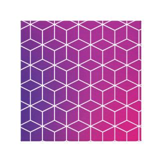 Teste padrão do cubo do inclinação no impressão