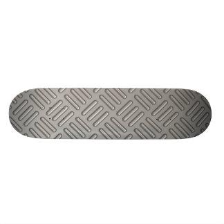Teste padrão do falso da placa do diamante skate personalizado