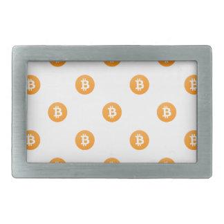 Teste padrão do logotipo de Bitcoin