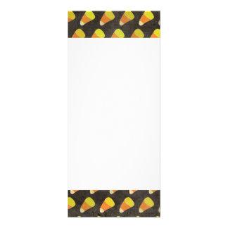 Teste padrão do milho de doces do Dia das Bruxas 10.16 X 22.86cm Panfleto