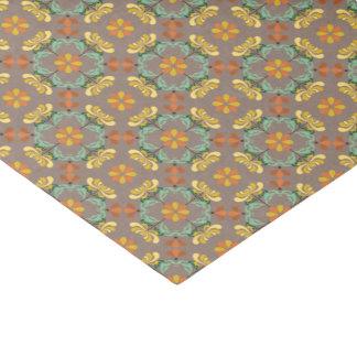 Teste padrão do outono do crisântemo da arte papel de seda