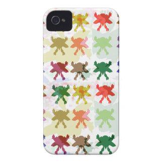 Teste padrão do papagaio da borboleta capinha iPhone 4