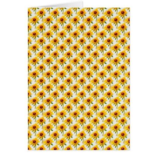 Teste padrão do papel de parede da foto de Susan d Cartão