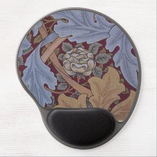 Teste padrão do papel de parede de William Morris Mouse Pad De Gel