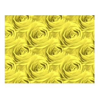 Teste padrão do papel de parede do rosa amarelo cartão postal