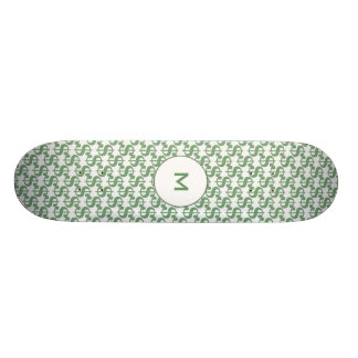 Teste padrão do símbolo do dólar shape de skate 19,7cm