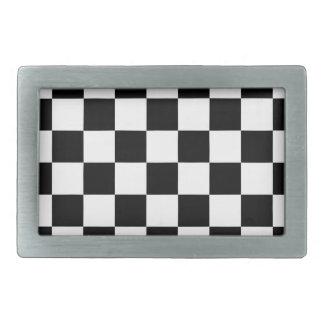 teste padrão do tabuleiro de xadrez preto e branco