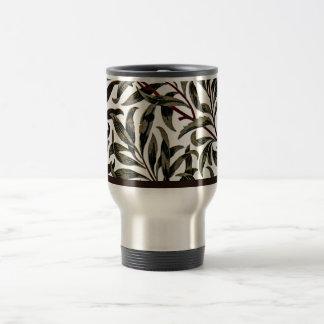 Teste padrão do vintage de William Morris, ramo do Caneca Térmica