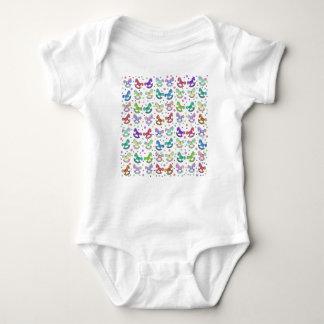 Teste padrão dos brinquedos body para bebê