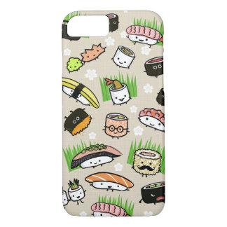 Teste padrão dos caráteres do sushi capa iPhone 7