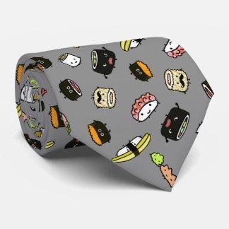Teste padrão dos caráteres do sushi gravata