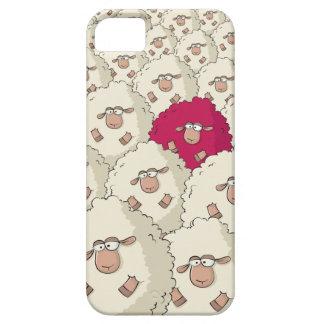 Teste padrão dos carneiros capa para iPhone 5