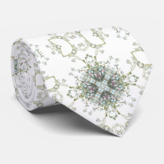 Teste padrão dos miosótis gravata
