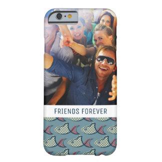 Teste padrão | dos peixes das bolinhas seus foto & capa barely there para iPhone 6