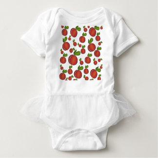 Teste padrão dos pêssegos body para bebê