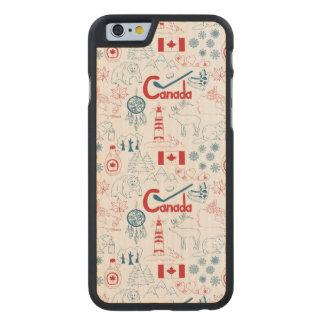 Teste padrão dos símbolos de Canadá |