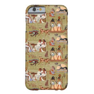 Teste padrão dos símbolos de Egipto | Capa Barely There Para iPhone 6