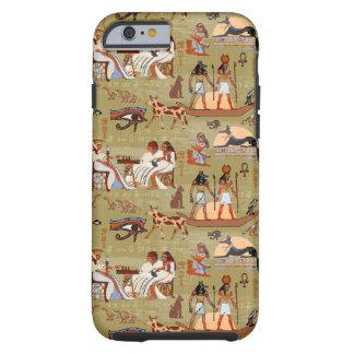 Teste padrão dos símbolos de Egipto | Capa Tough Para iPhone 6