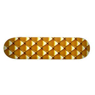 Teste padrão elegante da escala do ouro shape de skate 20,6cm