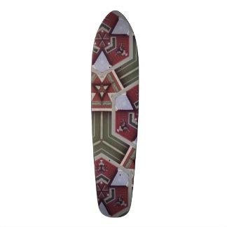 Teste padrão estranho original shape de skate 18,1cm