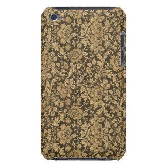 Teste padrão floral #2 do vintage elegante capa para iPod touch