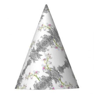 Teste padrão floral da colagem chapéu de festa