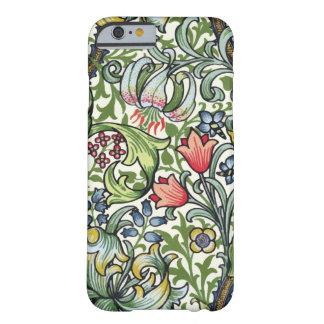 Teste padrão floral de chintz do lírio dourado de capa barely there para iPhone 6
