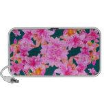 Teste padrão floral de Mulitcolored Caixinha De Som Para iPod