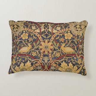 Teste padrão floral do tecido da tapeçaria do almofada decorativa