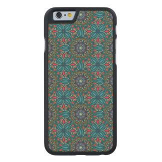 Teste padrão floral étnico abstrato colorido da