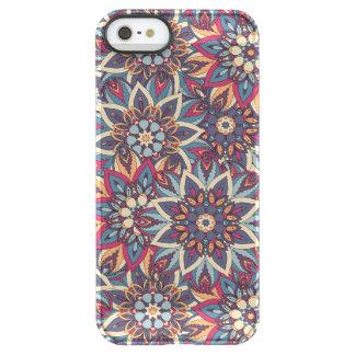 Teste padrão floral étnico abstrato colorido da capa para iPhone SE/5/5s permafrost®