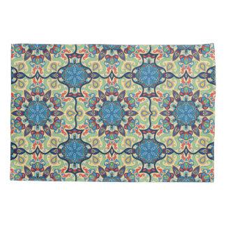 Teste padrão floral étnico abstrato colorido de da