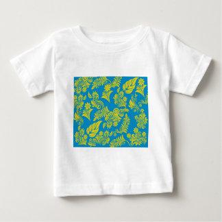 Teste padrão floral legal retro! t-shirts