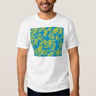 Teste padrão floral legal retro! tshirt