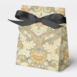 Teste padrão floral por William Morris - Caixinha De Lembrancinhas