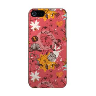 Teste padrão floral retro 7 capa incipio feather® shine para iPhone 5