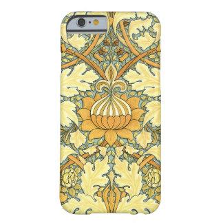 Teste padrão floral rico de William Morris Capa Barely There Para iPhone 6