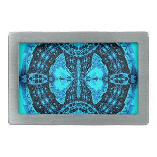 Teste padrão Funky azul de néon moderno