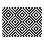 Teste padrão geométrico abstrato dos quadrados, br cartão postal