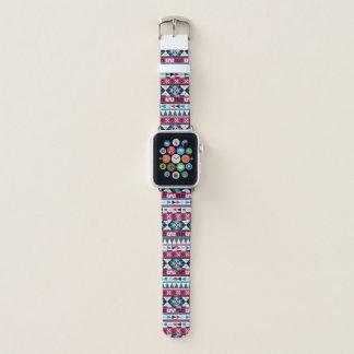 Teste padrão geométrico asteca étnico na moda