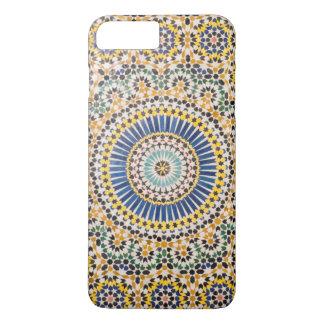 Teste padrão geométrico do azulejo, Marrocos Capa iPhone 8 Plus/7 Plus