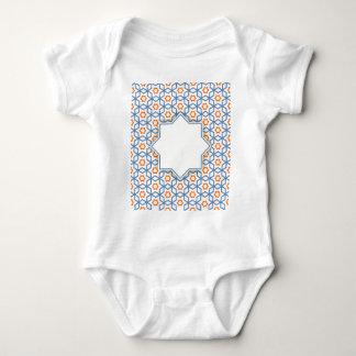 teste padrão geométrico islâmico body para bebê