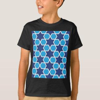 teste padrão geométrico islâmico camiseta